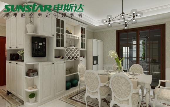 湘西龙凤商居城——申斯达现代美式风格全屋定制案例