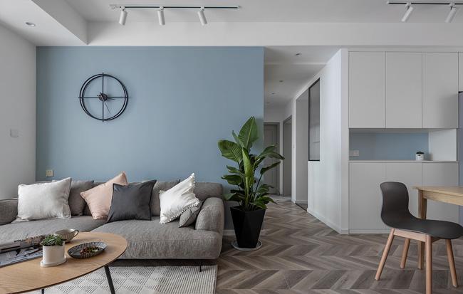 怎么也看不腻的全屋定制案例 海蓝色让家更清新