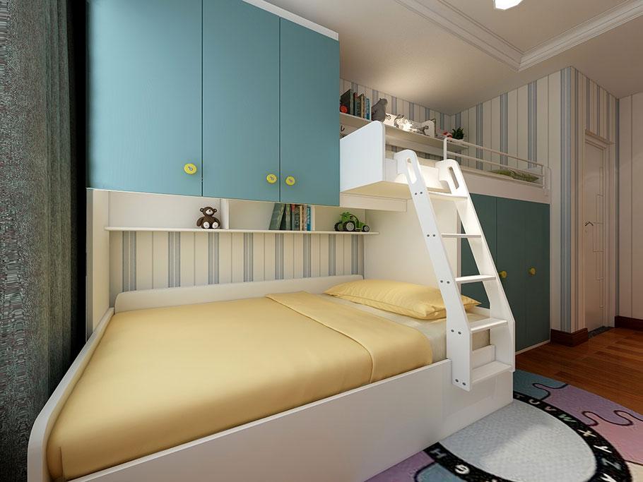现代时尚风格|衣柜定制儿童床定制