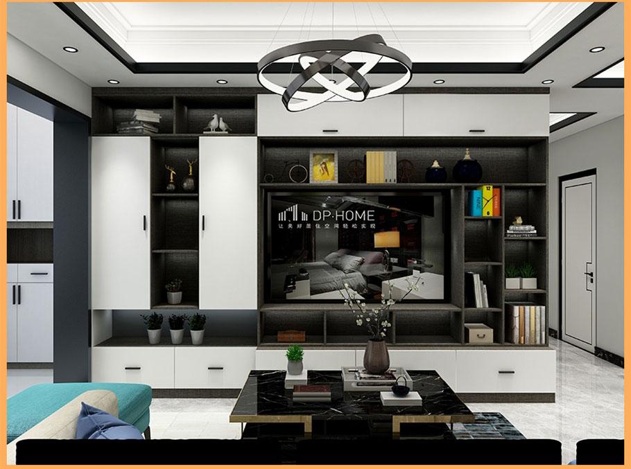 现代轻奢风格|电视机柜衣柜定制