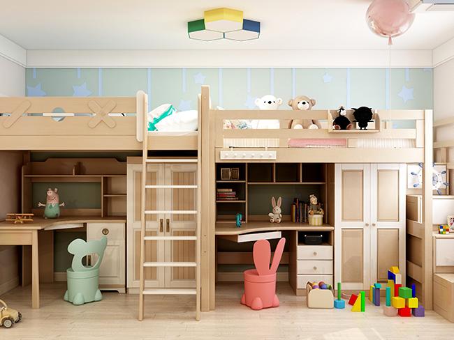 北欧风格——申斯达76平两居室全景全屋定制案例