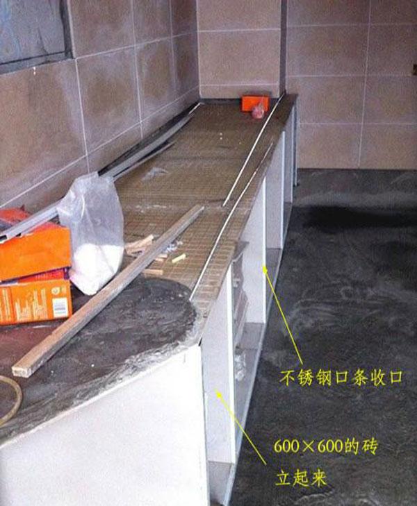 这种就是现在广泛使用的一种橱柜,用的是密度板和刨花板一类的板材