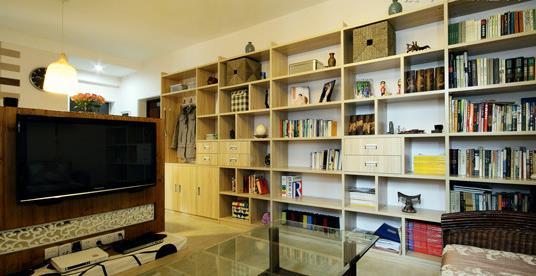 现代时尚全房装修案例 时尚与创意并存